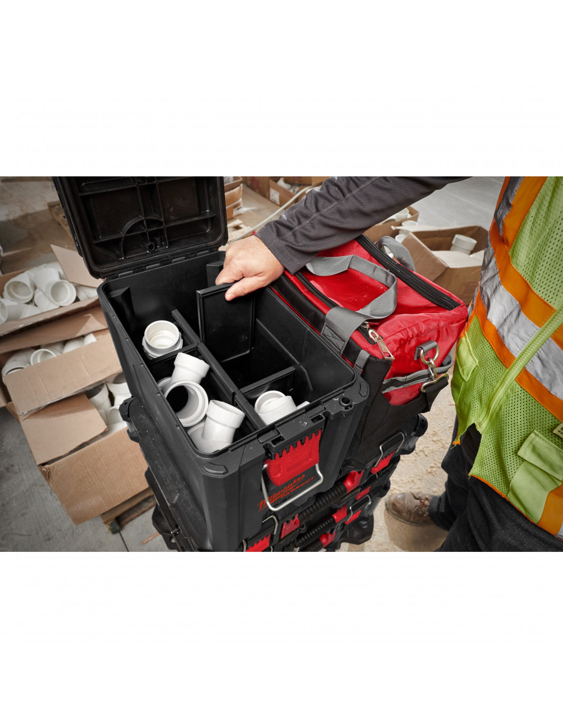 Milwaukee packout Compact Box packout ™ Compacte Boîte 4932471723
