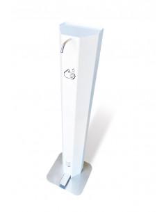 Distributeur à pédale de gel hydro alcoolique et de savon liquide sur socle | DSTRB-1L