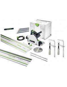Scie plongeante TS 55 REBQ-Plus + Pack accessoires complet | 575961 - Festool