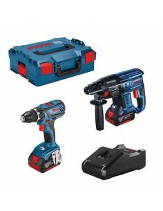 Pack perceuse-visseuse GSR 18V-28 + perforateur GBH 18V-21 18V 4Ah | 0615990M0R - Bosch