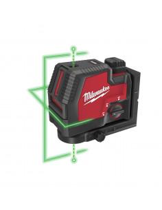 Laser vert 2 lignes avec aplomb REDLITHIUM™USB L4 CLLP-301C | 4933478099 - Milwaukee