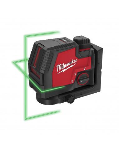 Laser vert 2 lignes REDLITHIUM™USB L4 CLL | 4933478098 - Milwaukee