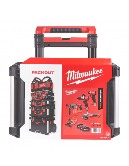 Pack 4 outils POWERPACK M18 FUEL + PACKOUT | 4933471149 - Milwaukee
