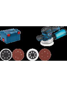 Ponceuse excentrique GEX 125-150 AVE + accessoires L-Boxx | 060137B103 - Bosch