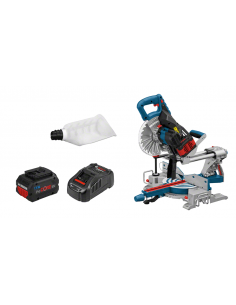 Scie à onglets sans-fil 18V 5.5Ah BITURBO GCM 18V-216 | 0601B41002 - Bosch