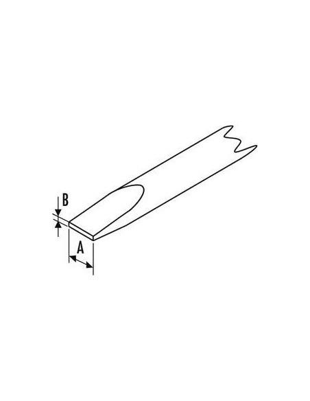 Tournevis pour vis à fente mécanicien 5,5x100 | E165098 - Expert by Facom