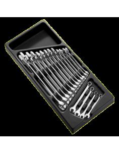 Plateau vide pour module 16 clés mixtes | E113557 - Expert by Facom