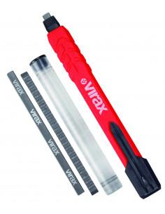 Crayon de chantier à mine + 2 recharges | 262710 - Virax