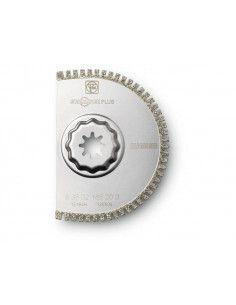 Lame de scie segment concrétion diamant\n denture ouverte slm d105 (1) 63502220210 - Fein