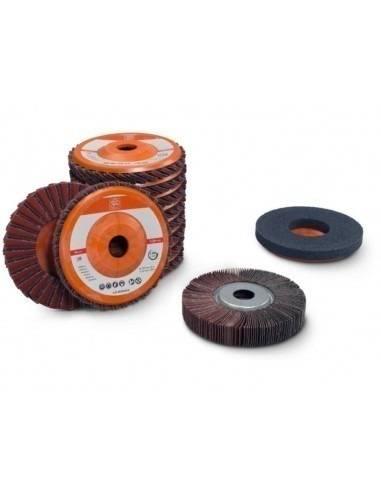 Set acier inoxydable ponçage tubes et profilés 63721052020 - Fein
