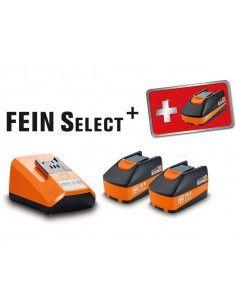 Set de demarrage batteries 18v 2.5ah select 92604300040 - Fein