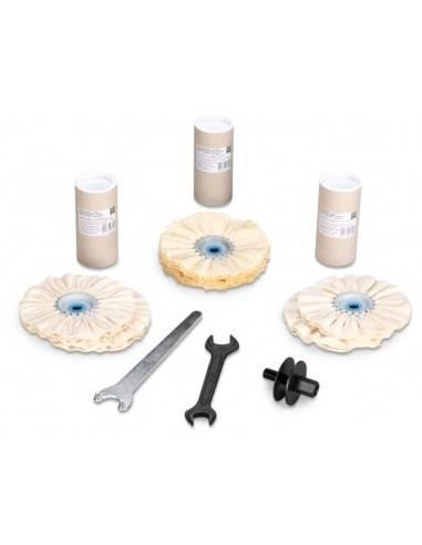 Set polissage surfaces planes, tubes et profilés 63723011040 - Fein