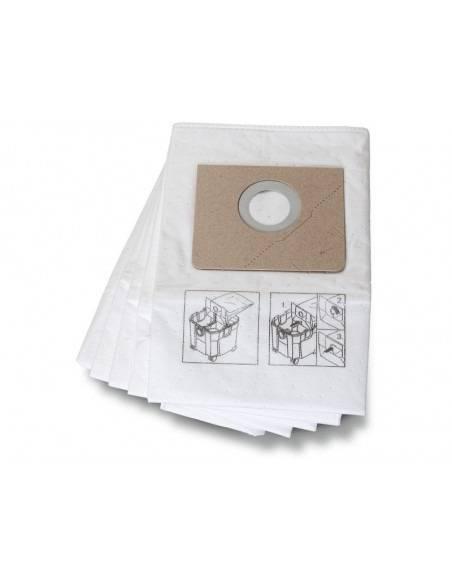 Sac filtrant premium non tissé DUSTEX 35 LX/MX (5) 31345251010 - Fein
