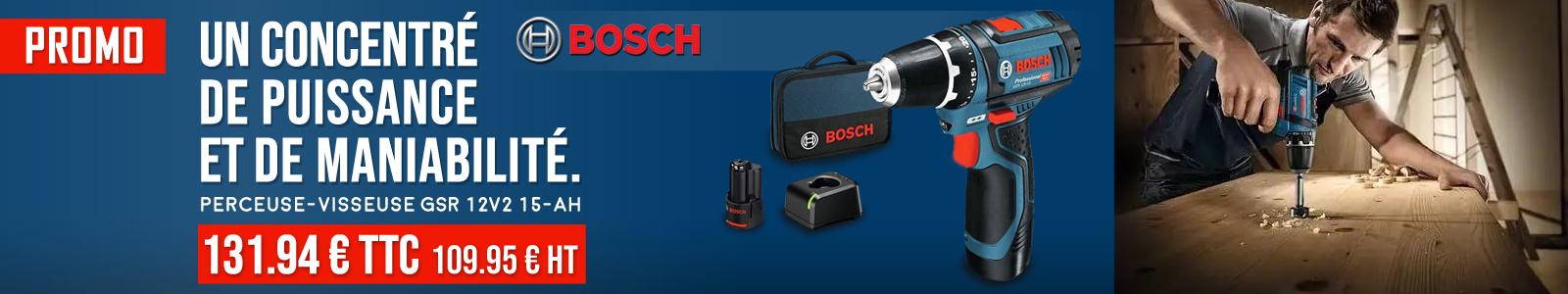 Nouveautés Radio Bosch GPB 18V-2 SC